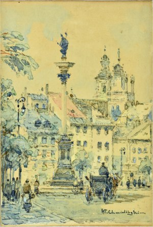 Władysław Chmieliński (1911-1979), Plac zamkowy w Warszawie