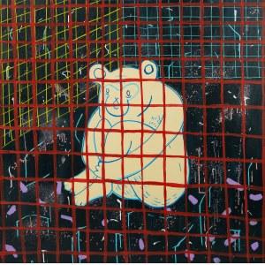 Maria Jagłowska, Małpa - siedzę i patrzę w pustą ścianę, 2020