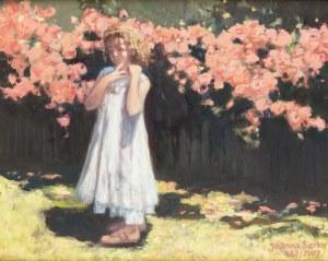 Joanna Sierko, Dziewczynka w ogrodzie, 2007