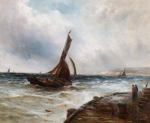 Gustave de BREANSKI, NA BRZEGU MORZA