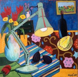 David Schab, Niebieski pokój, 2020