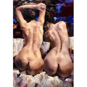 Krystyna Khvostyk, Twins, 2020