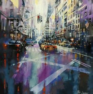 Piotr Zawadzki, Metropolis. Purple New York, 2020