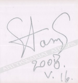 Stasys Eidrigevicius, [o grafice] [autograf]