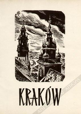 Stanisław Raczyński (1903-1982), [teka] Kraków. 10 drzeworytów