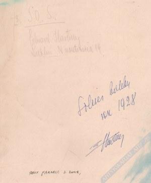 Hartwig Edward (1909-2003), [fotografia, vintage print] Felix Parnell z żoną