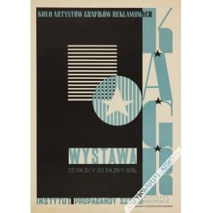 Tadeusz Gronowski (1894-1990), [plakat, 1936] KAGR Koło Artystów Grafików Reklamowych