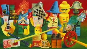 Zbigniew Gorlak, Multi kulti bio army Lego, 2018