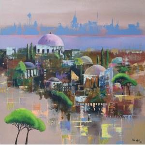 Luiza Los-Pławszewska (ur. 1963), Orient City, z cyklu Metamorfozy miast, 2020
