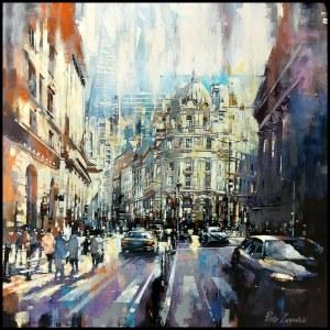 Piotr Zawadzki (ur. 1971), Metropolis. Bank Station London, 2020