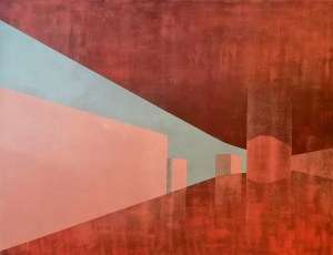 Andrzej Kikowski (ur. 1976), Empty space, 2020