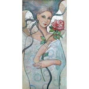 Joanna Misztal (ur. 1967), Zimowa róża, 2020