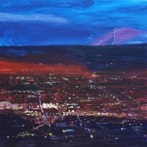 Paweł Świątek (ur. 1982), City lights, 2020