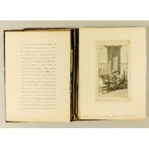Daniel CHODOWIECKI (1726-1801), Album z rycinami - 21 luźnych kart