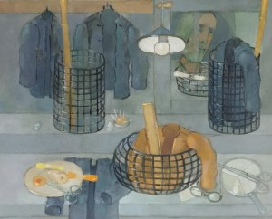 Kiejstut BEREŹNICKI (ur. 1935), Martwa natura z odbiciem w lustrze