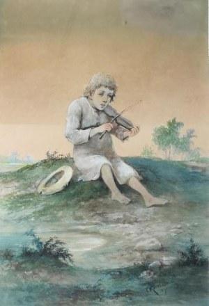 Franciszek KOSTRZEWSKI (1826-1911), Janko Muzykant, 1902