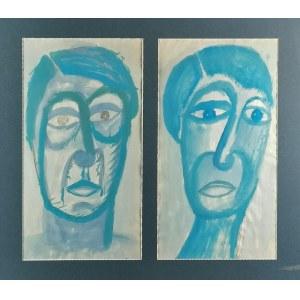 Jean LAMBERT-RUCKI (1888 Kraków-1967), Dwie twarze