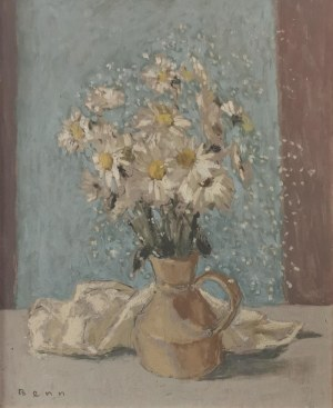 Bencion (Benn) RABINOWICZ (1905-1989), Białe stokrotki z