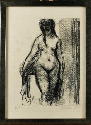 Stefania DRETLER-FLIN (1909-1994), Akt, lata 50. XX w.