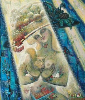 Stefan CENTOMIRSKI (ur. 1928), Alegoria ogrodu, 2002