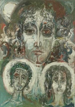 Zdzisław LACHUR (1920-2001), Trzej młodziankowie, 1991