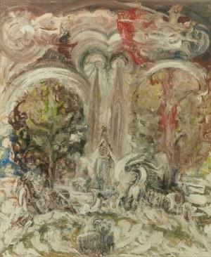 Zdzisław LACHUR (1920-2001), Wygnanie z raju, 1991 ?