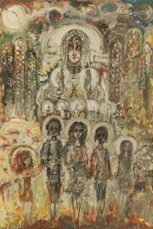 Zdzisław LACHUR (1920-2001), Królowa nieba i ziemi, 1991?