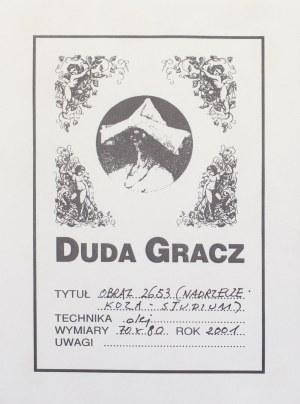 DUDA-GRACZ JERZY, Obraz 2653. Nadrzecze - koza - studium, 2001