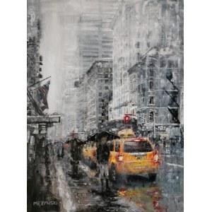 Arkadiusz Mężyński, New York: Rainy day