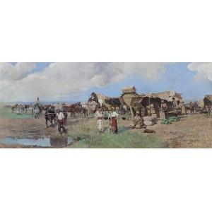 Ajdukiewicz Tadeusz, SCENA BAŁKAŃSKA, 1905