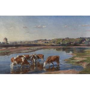 Lasocki Kazimierz, U WODOPOJU, 1930