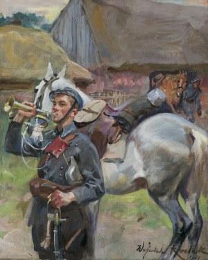 Kossak Wojciech, NA ZBIÓRKĘ, 1933