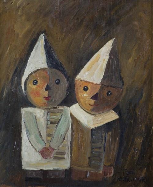 Makowski Tadeusz, DWOJE DZIECI, OK. 1930