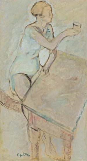 Gottlieb Leopold, PRZY STOLE. TOAST, OK. 1930