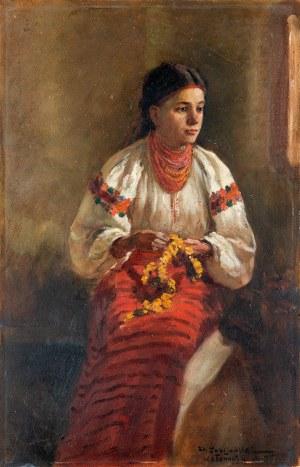 Fabijański Stanisław, Młoda Hucułka, 1898