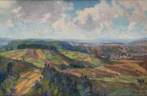 Kamocki Stanisław, Pejzaż podgórski, ok. 1906