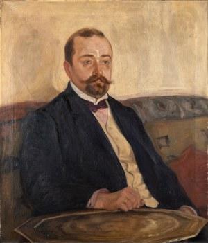 Rzegociński Witold, Portret dra Józefa Sędzielowskiego, 1907