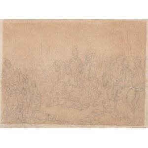 Suchodolski January , Jan Karol Chodkiewicz pod Kircholmem, ok.1858