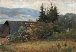 Wodzinowski Wincenty, Szałasy w górach, lata 20. XX w.