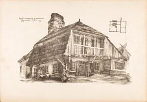 Gumowski Jan Kanty, Lublin. Domek mieszczański na Podzamczu, 1917