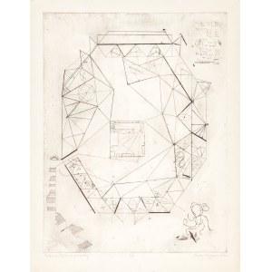 Leszczyńska-Kluza Danuta, Pustelnia (Miłość do geometry), 1962