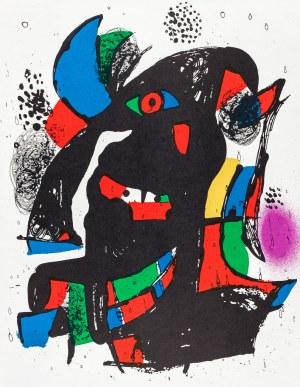 Miró Joan, Kompozycja II, 1972