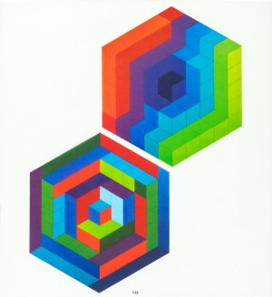 Vasarely Victor, Sin Hat A, 1972