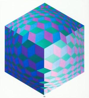 Vasarely Victor, Hat Leg, 1972