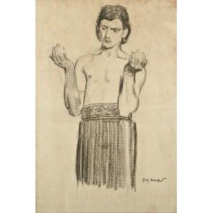 Józef MEHOFFER (1869-1946), Studium postaci
