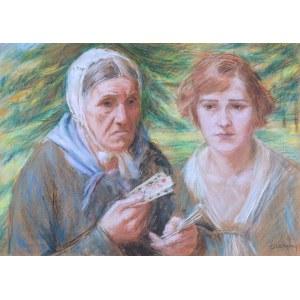 Józef Szczęsny (1885 Rybitwy – 1968 Natolin), Dwie kobiety - Wróżba