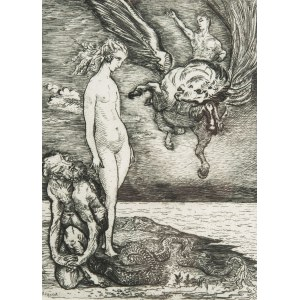 Konstanty Brandel (1880 Warszawa - 1970 Paryż), Andromeda