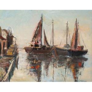 Jan Chrzan (1905-1993), Łodzie rybackie