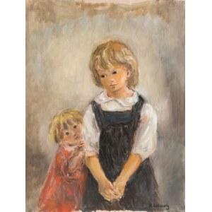 Katarzyna Librowicz (1912 Warszawa - 1991 Paryż), Dwójka dzieci