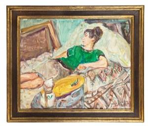 Vladimir Naiditch (1903 Moskwa - 1981 Paryż), Śpiąca kobieta